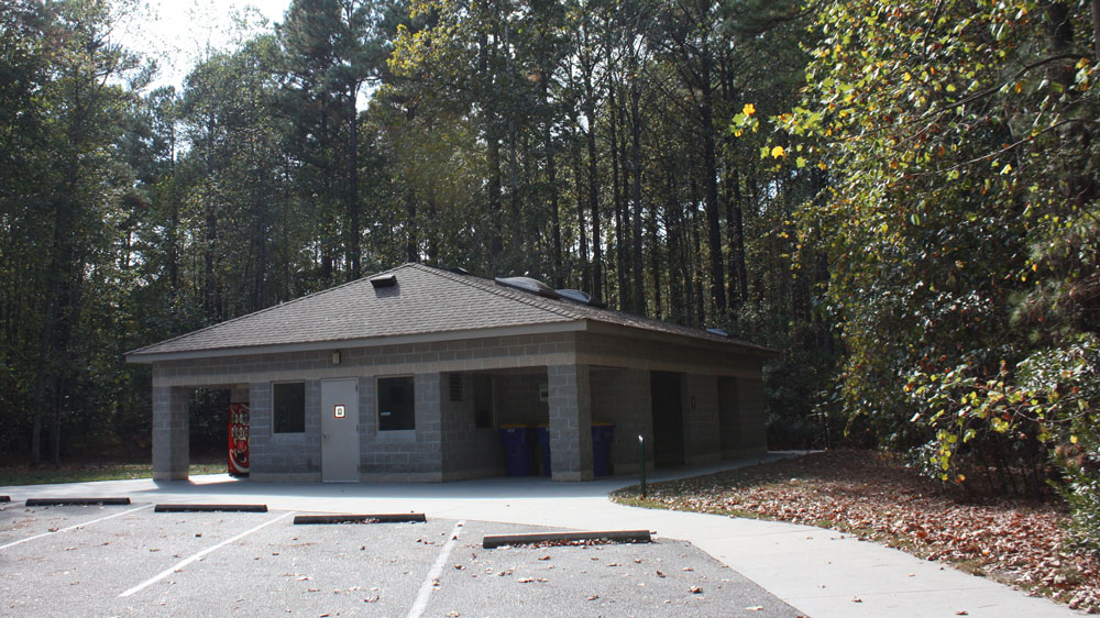 Chippokes State Park Campground Bath House Exterior