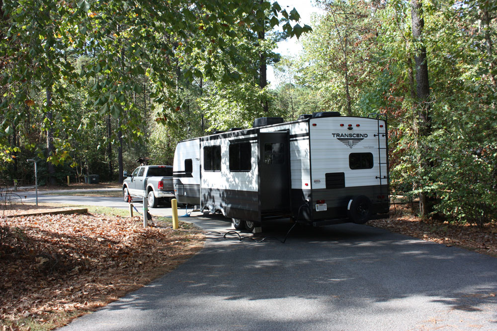 Chippokes State Park Campground B Loop Long Pull Through Site