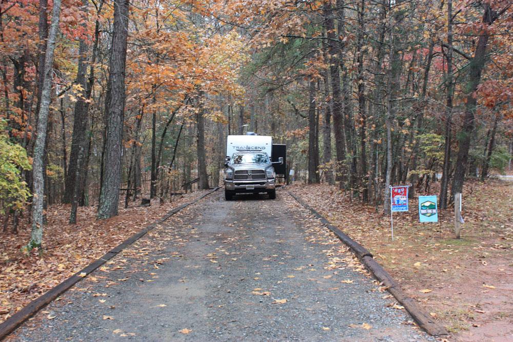 Falls Lake Rolling View Campsite