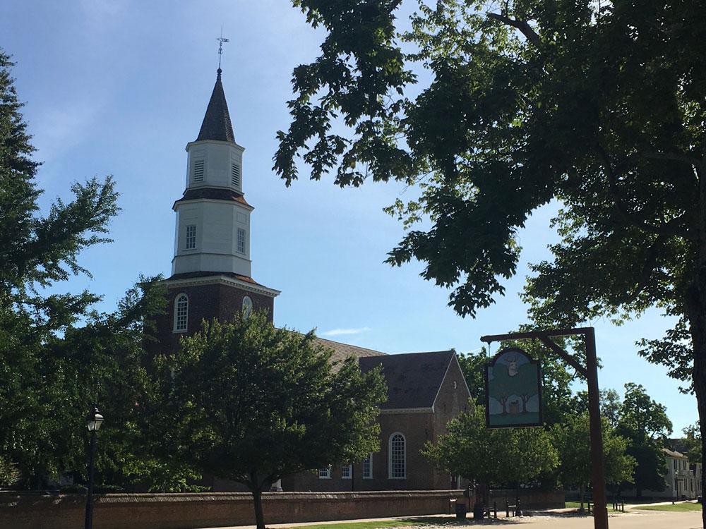 Bruton Parish Church Colonial Williamsburg VA