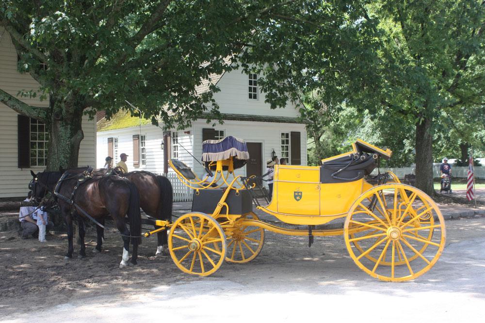 Carriage Ride Colonial Williamsburg VA