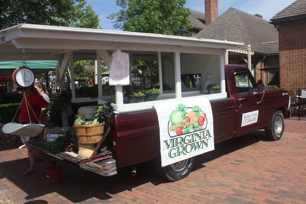 Produce Straight From The Farm Williamsburg Farmers Market Williamsburg VA