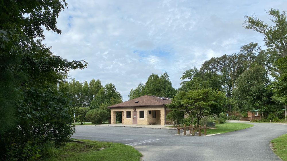 Belle Isle State Park Campground Bathhouse