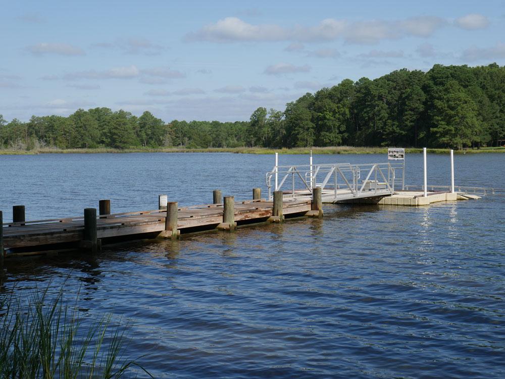 Belle Isle State Park Kayak Launch Dock