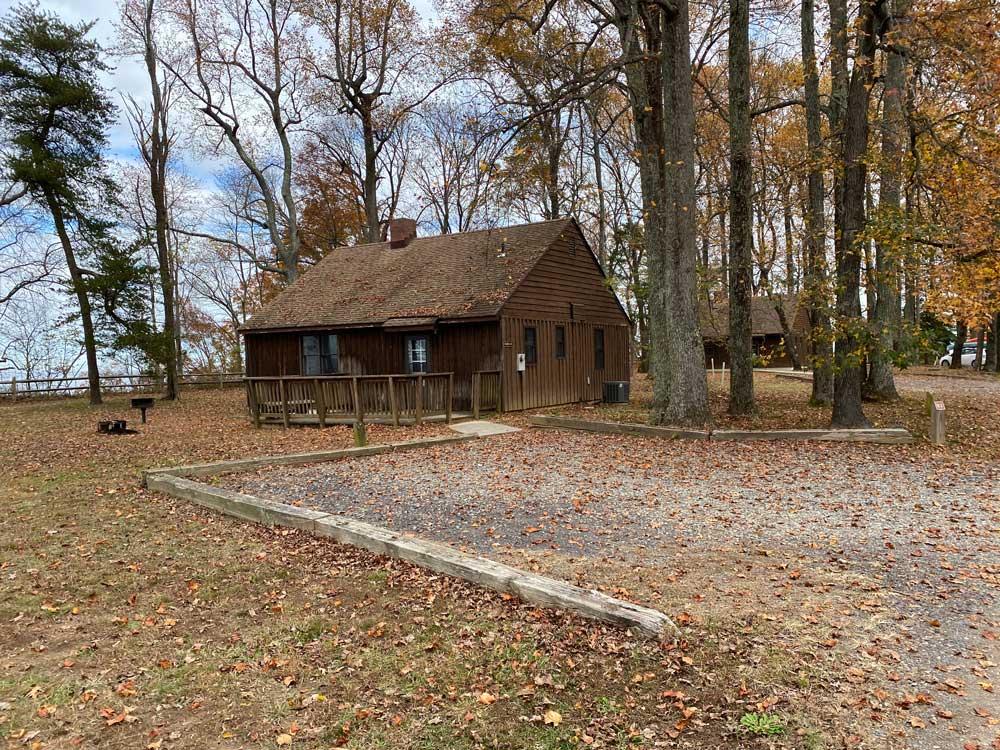 Westmoreland State Park Cabin