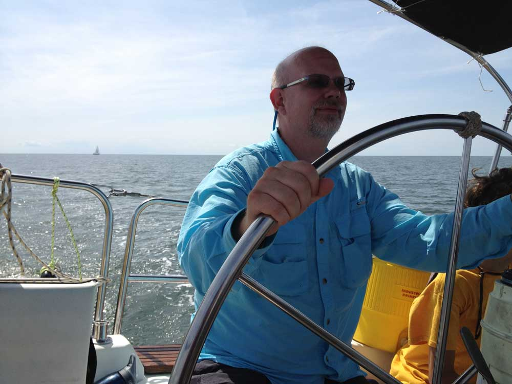 Erling Sailing on the Chesapeake Bay
