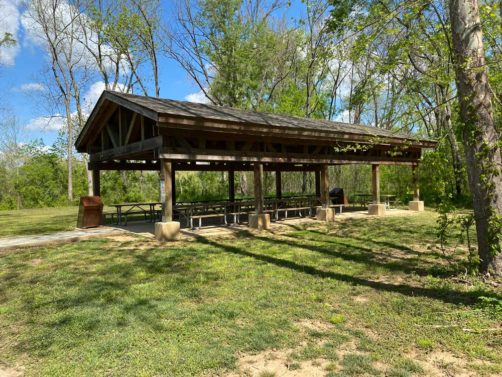 Powhatan State Park Picnic Shelter