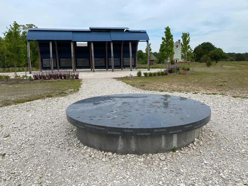 Machicomoco State Park Community Center Stone