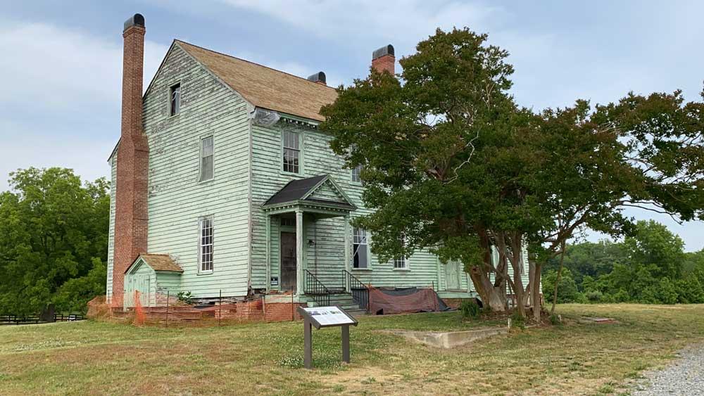 Machicomoco State Park Timberneck House