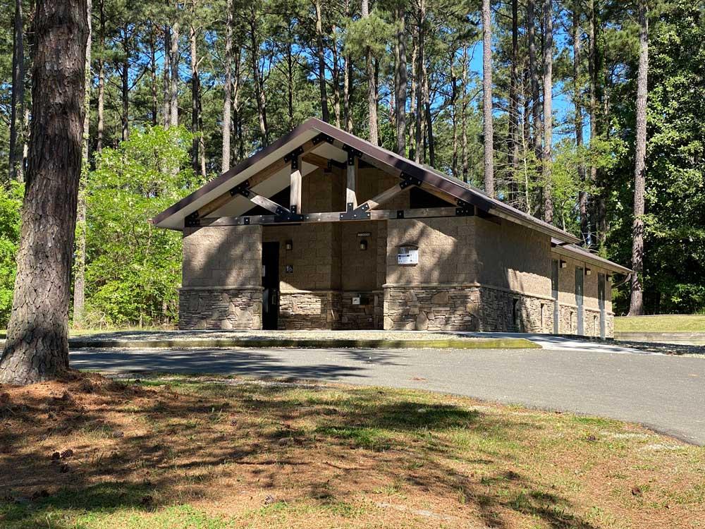North Bend Campground Bath House