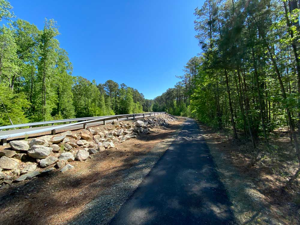 North Bend Campground Bike Path