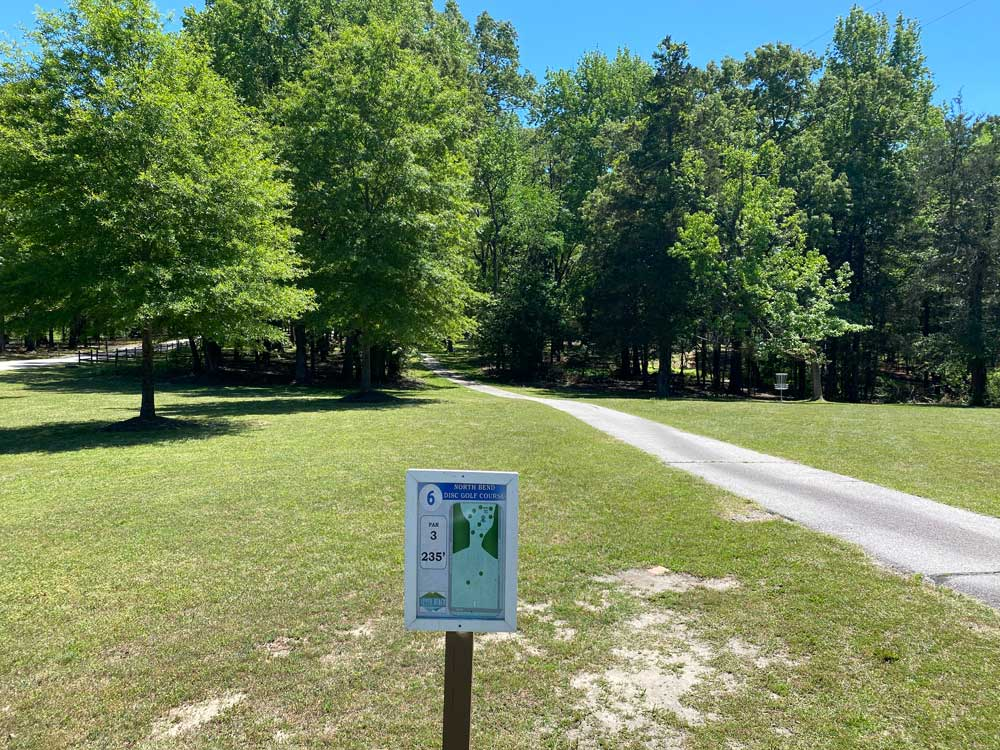 North Bend Campground Disc Golf Course