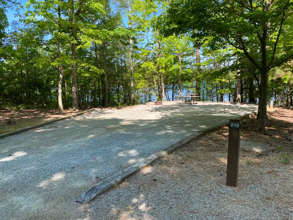 North Bend Campground Site 219