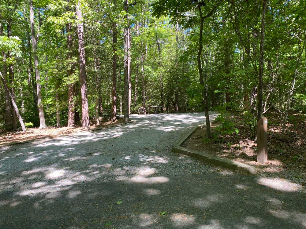 North Bend Campground Site 55