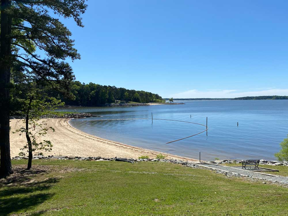 North Bend Campground Swim Beach