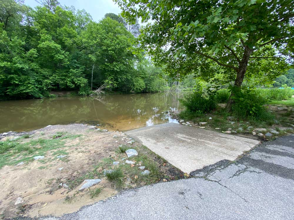Boat Launch at Powhatan State Park