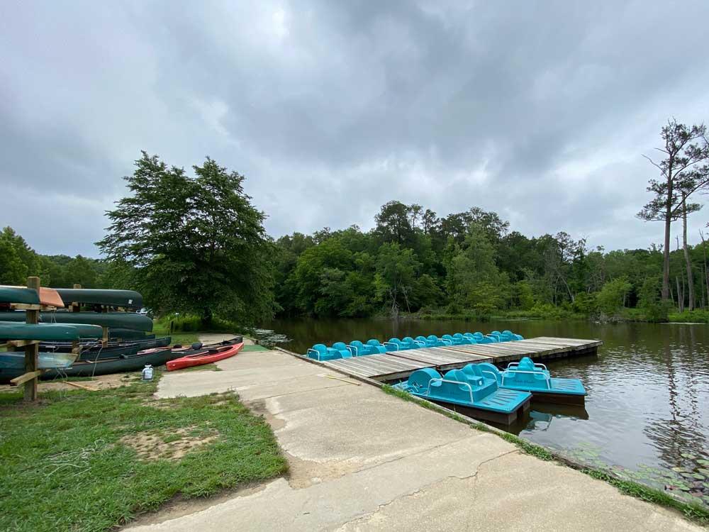 Boat Rentals at Powhatan State Park