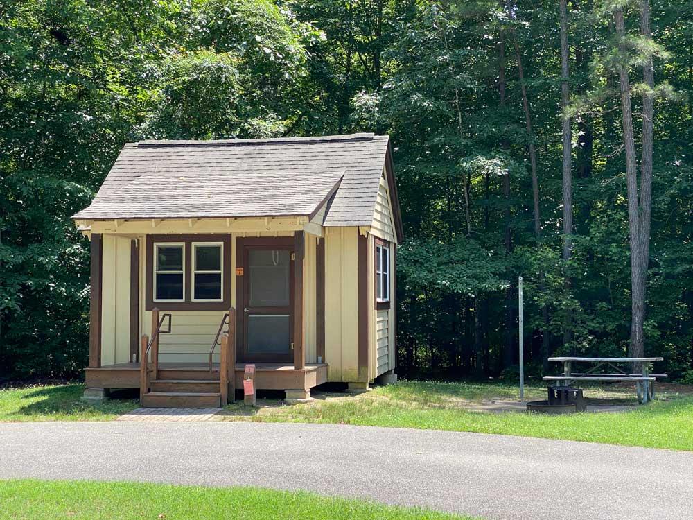 Pocahontas State Park Camping Cabin