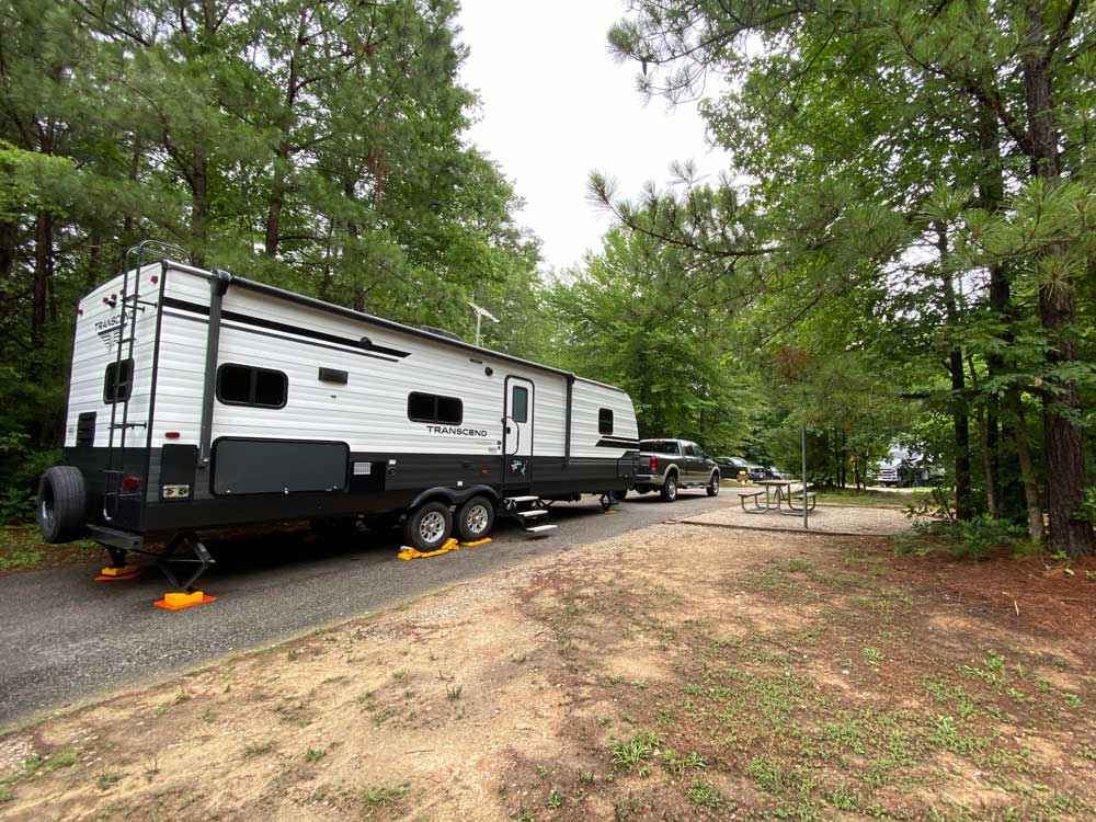 Pocahontas State Park Pull Through Campsite