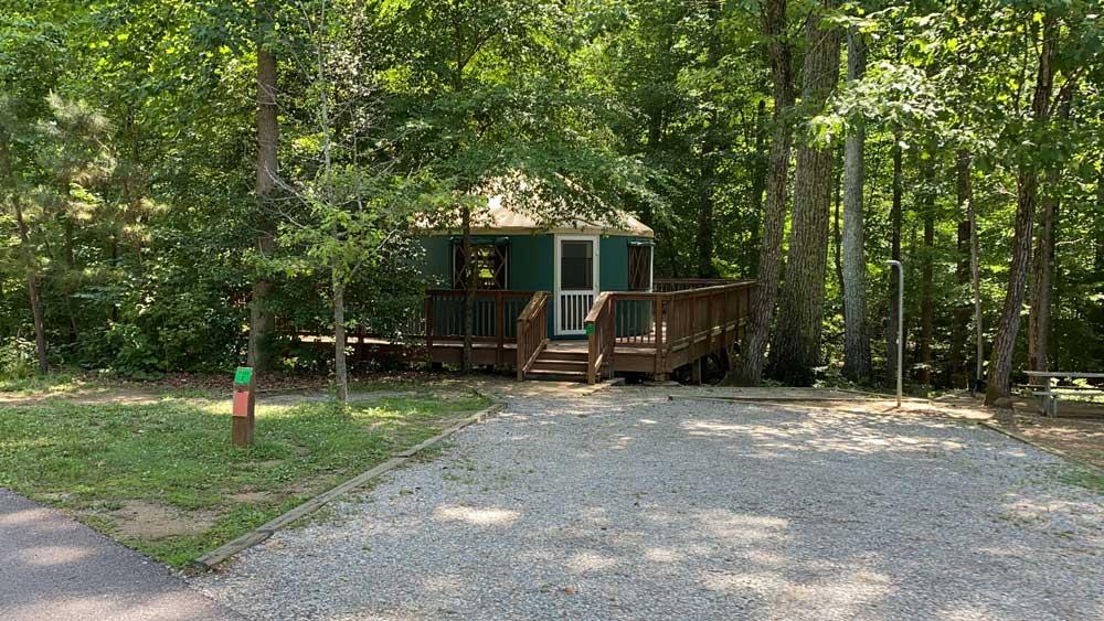 Pocahontas State Park Yurt