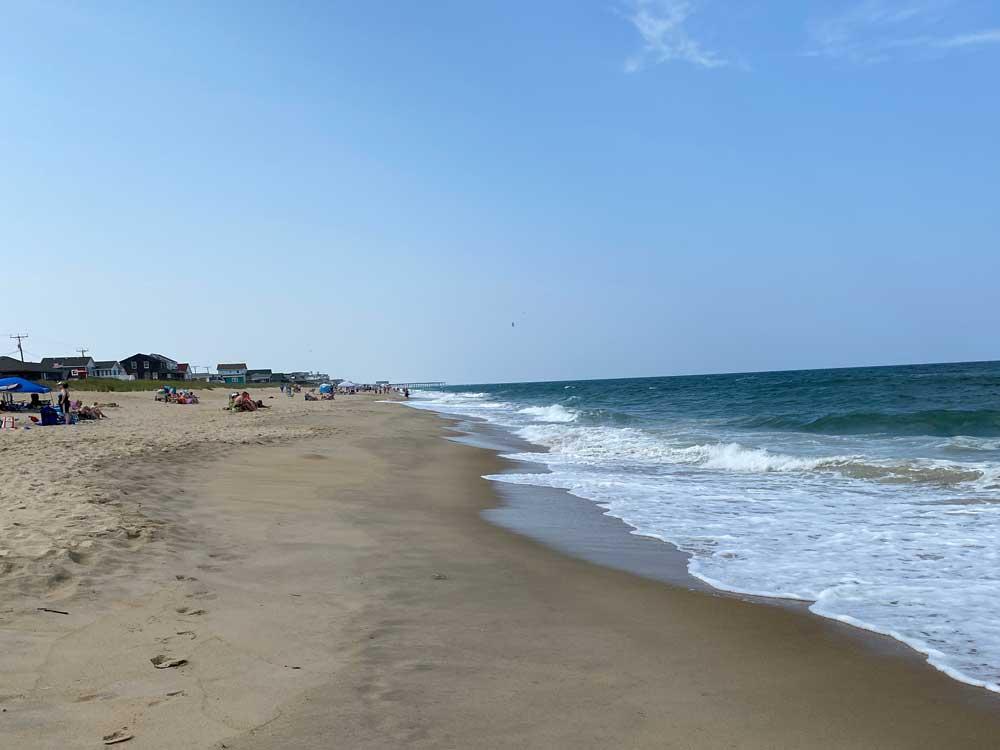 Beach at the Outer Banks North Carolina
