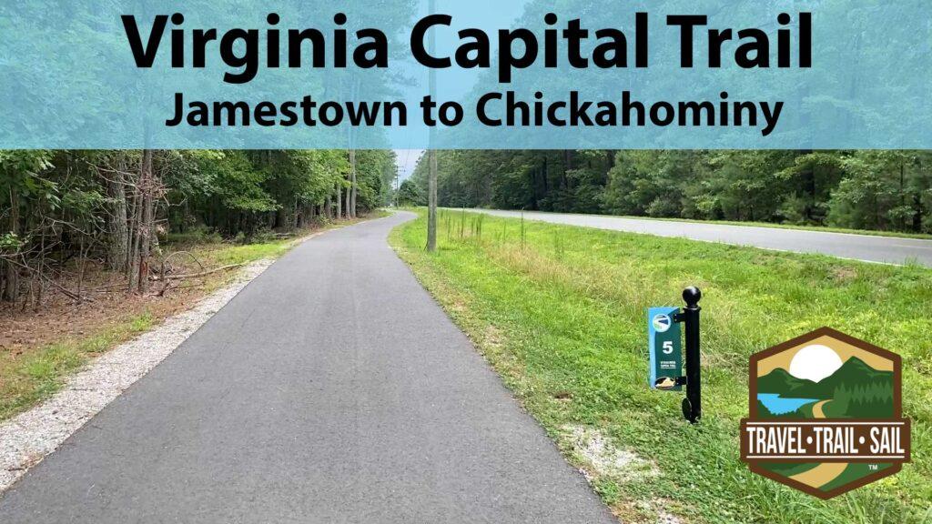 Virginia Capital Trail Jamestown to Chickahominy YouTube Thumbnail