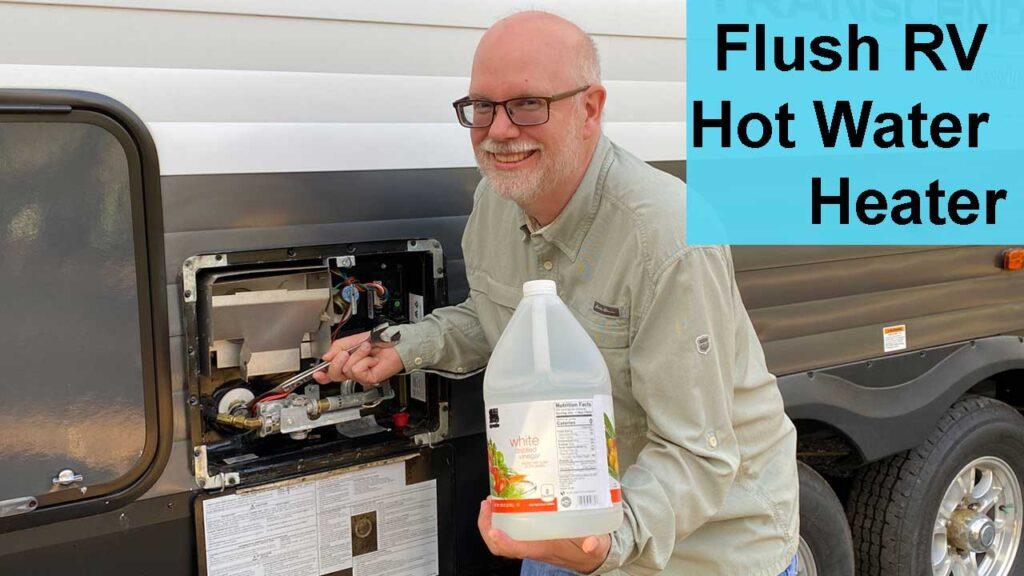 Flush RV Water Heater YouTube Video Thumbnail