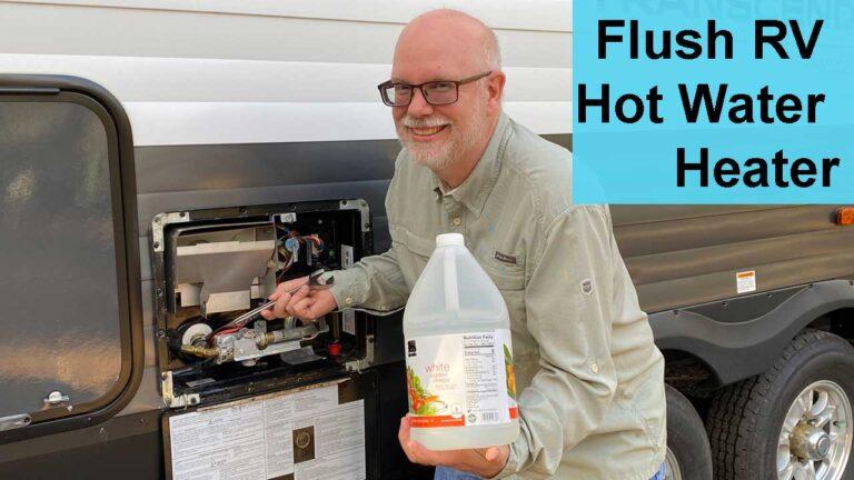 Flush RV Water Heater
