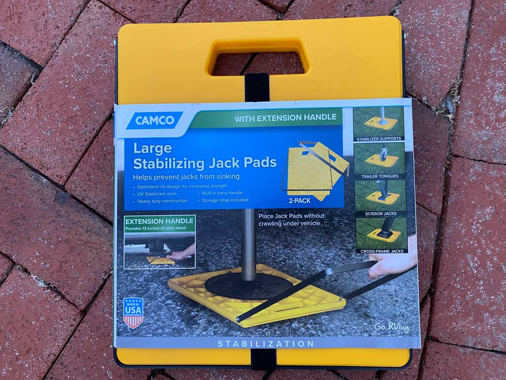 Camco stabilizing jack pad