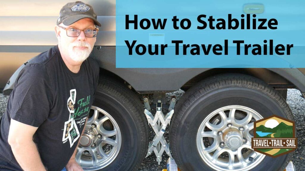 How to stabilize your travel trailer video