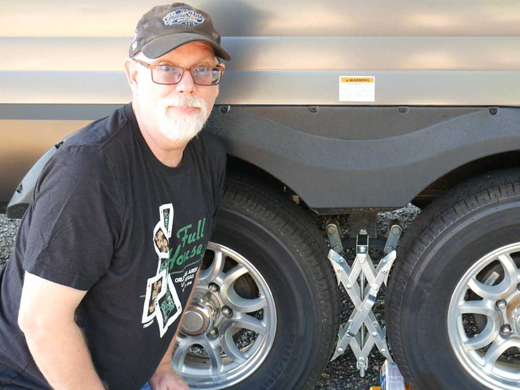 How to Stabilize Your Travel Trailer