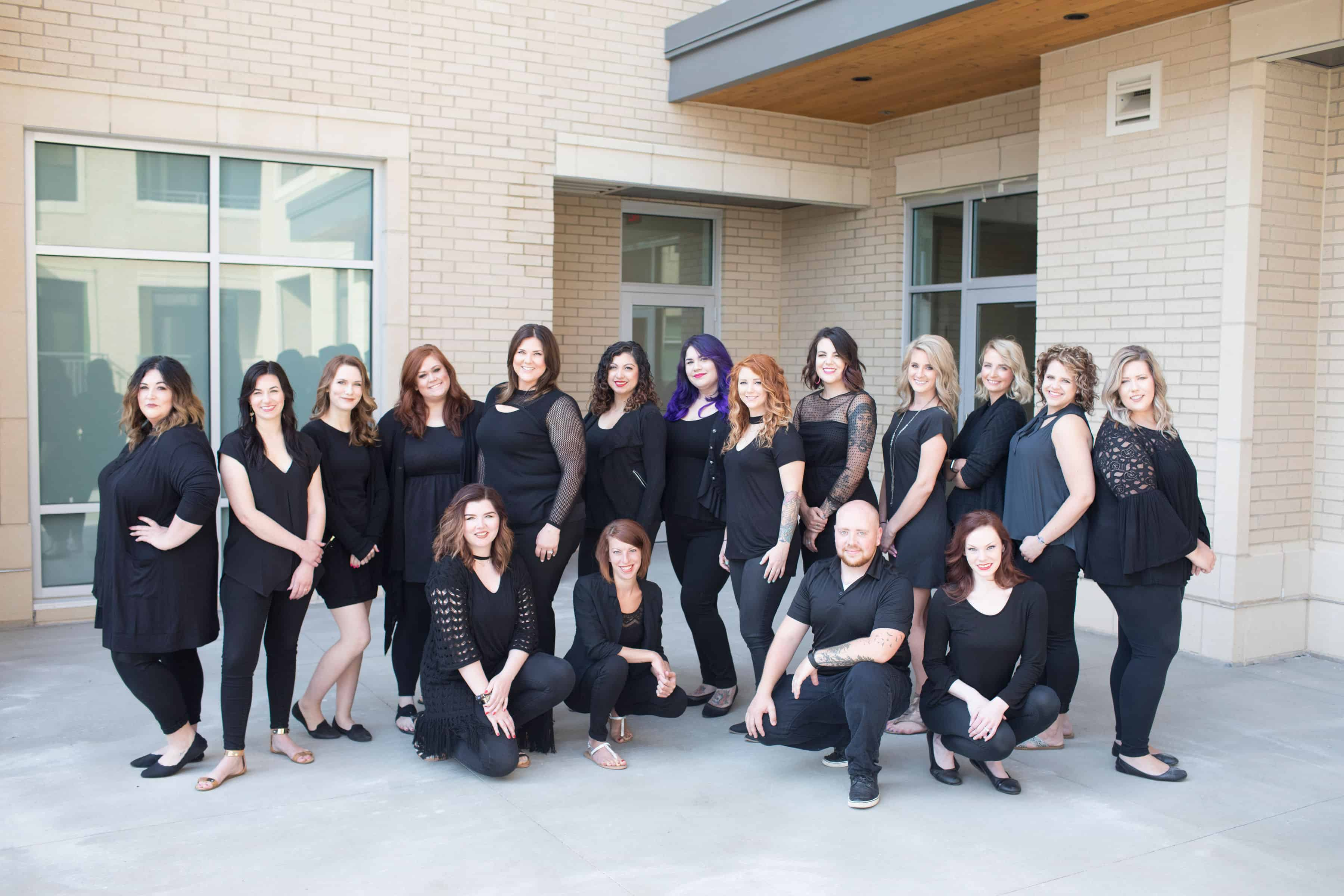 Meet Your Stylist Blog All About Events A Staff That Plays Together Stays Together Kati Whitledge Samantha Georgson