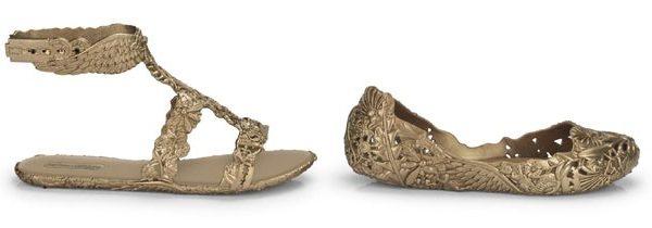 Barroco nos pés, com design by Campana