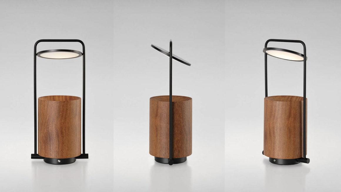 Luz portátil e afetiva: Mobi, design Fernando Prado