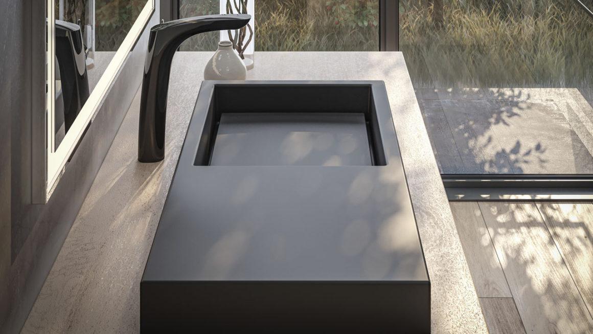 Linha de cubas Horizon, de João Armentano para a Roca, é inspirada na arquitetura