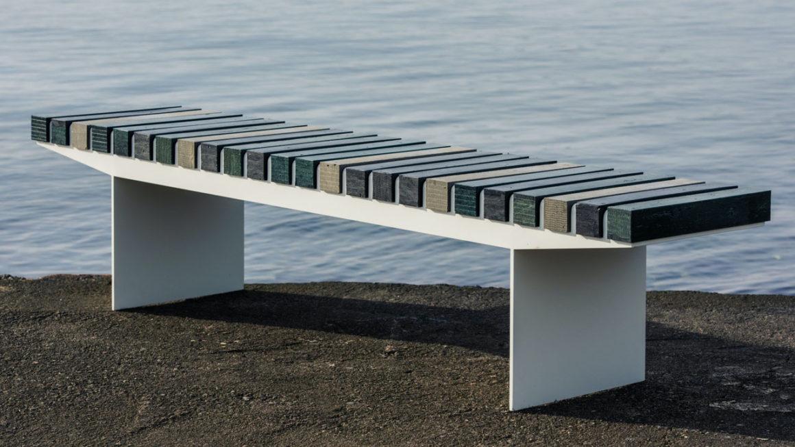 Móveis de plástico marinho reciclado: veja 7 exemplos