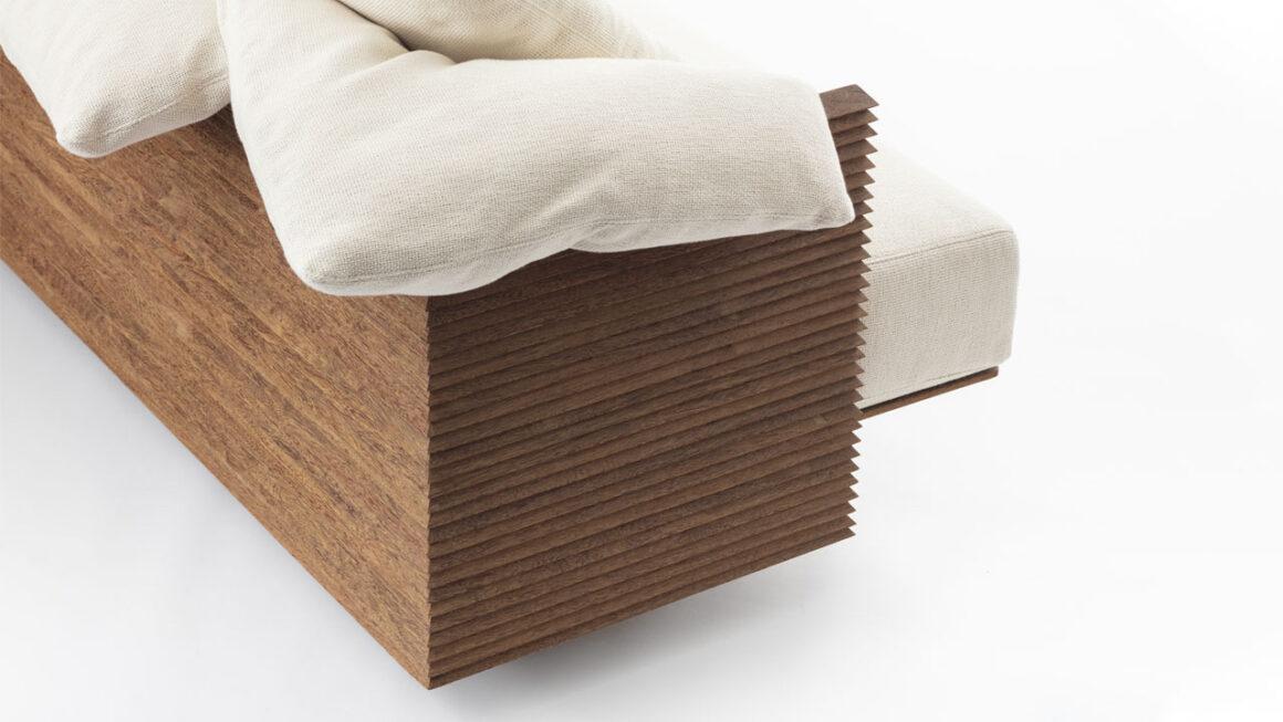 Campo e cidade inspiram novo sofá de Bruno de Carvalho