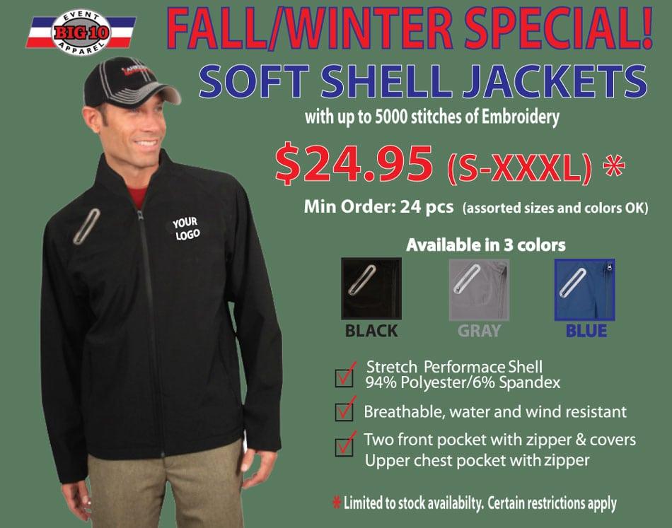 Fall/Winter Sale on Jackets
