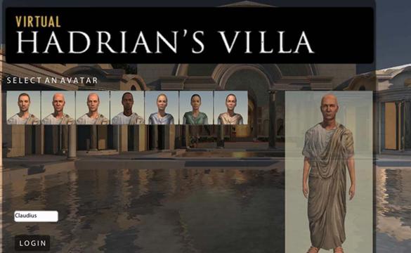 virtual hadrianc's villa