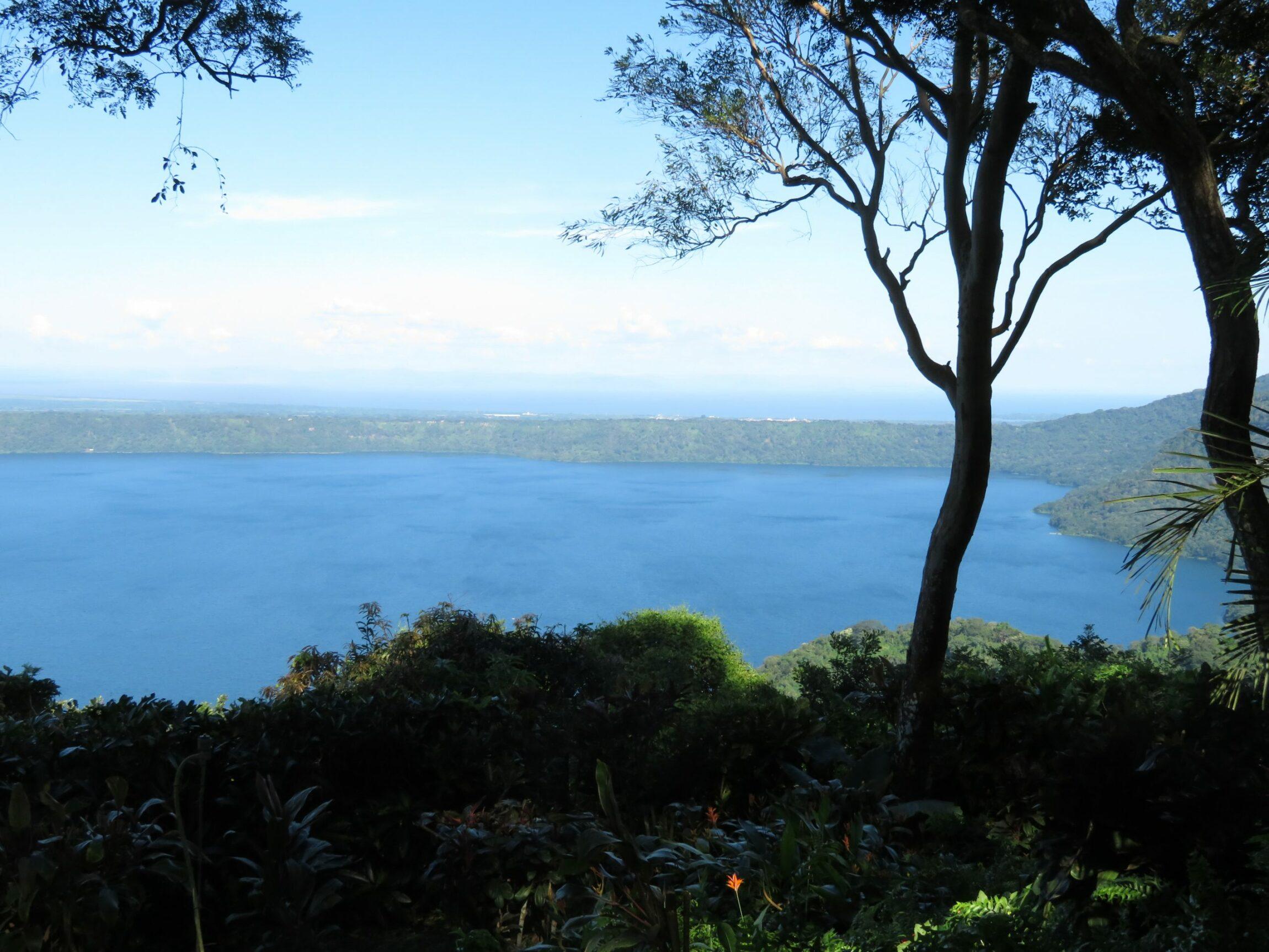 Four casitas Overlooking Laguna de Apoyo