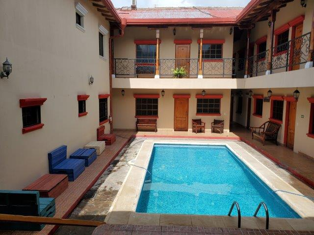 For rent hotel with commercial space