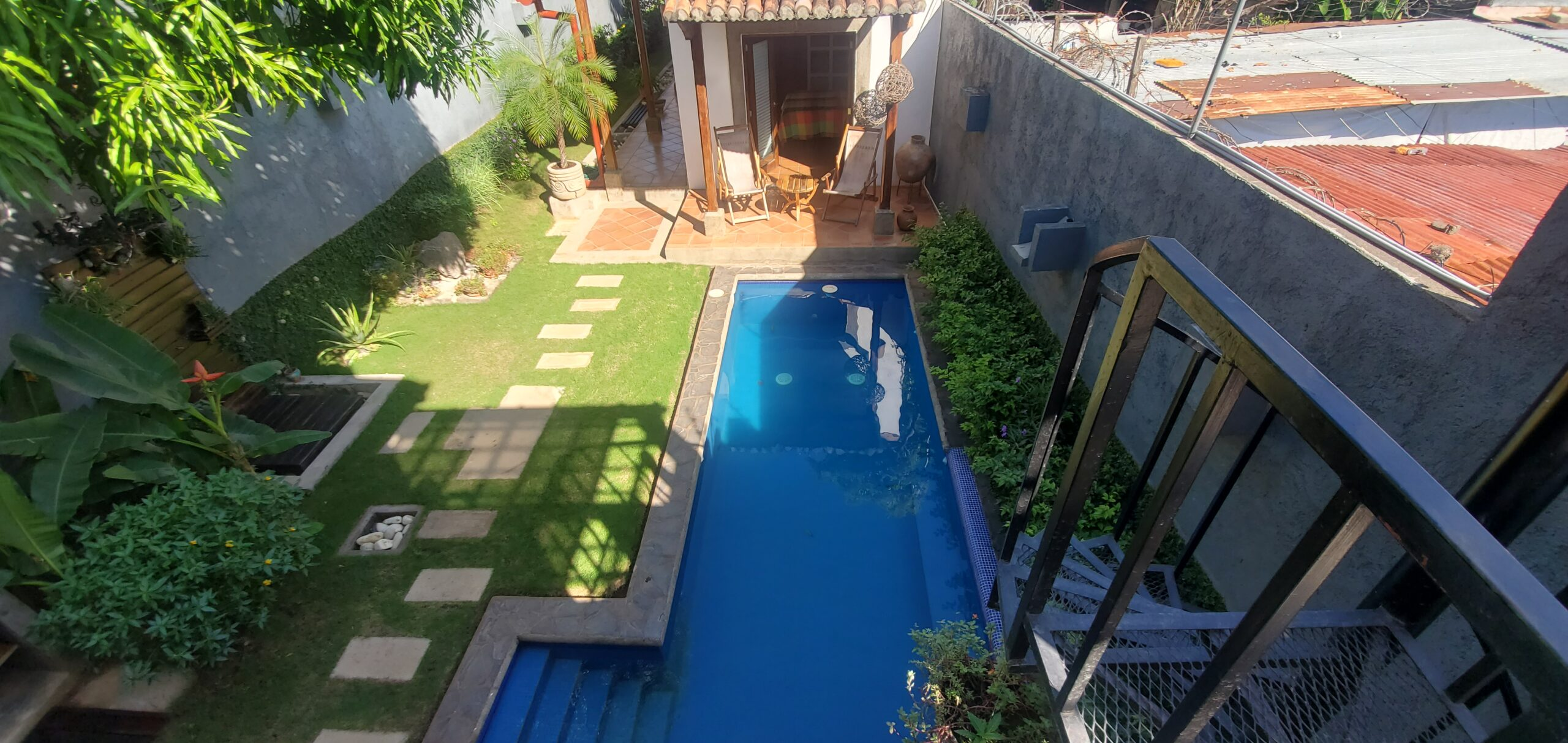 Nicaragua Real Estate 3 Bedroom, 3 Bathroom Home, with pool, rooftop and much more in The Gran Sultana, Granada,
