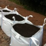 Topsoil in bulk bags