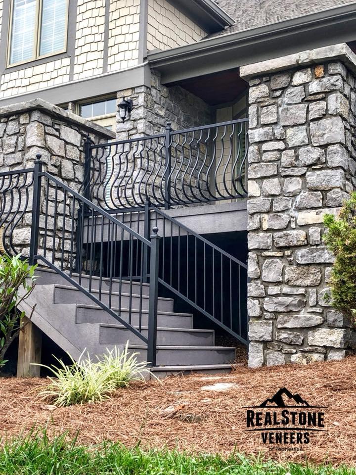 Franklin Limestone 4-6in porch columns