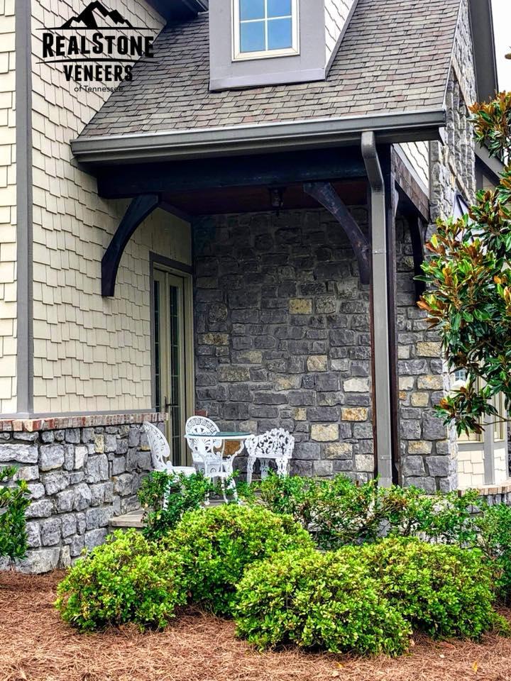 Franklin Limestone 4-6in porch