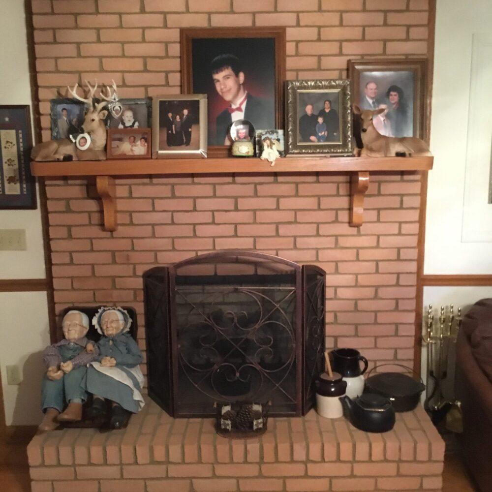 Sears_Brick Fireplace_BEFORE