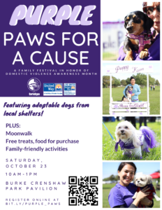 Purple Paws for a Cause
