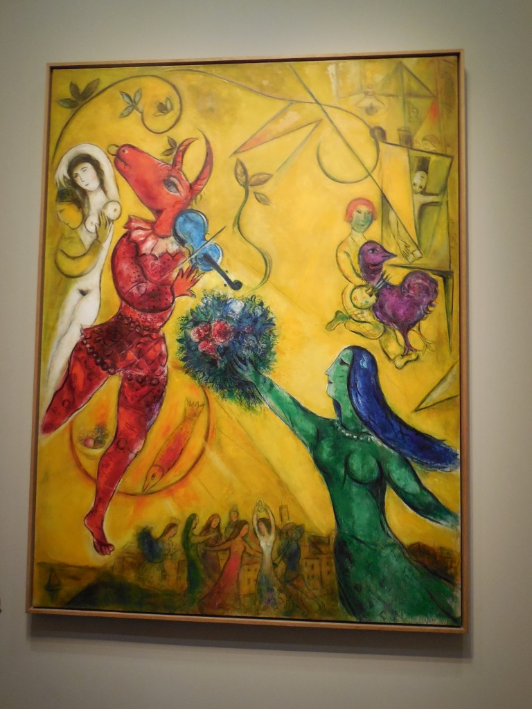 La Danse - the most recognized piece by Chagall