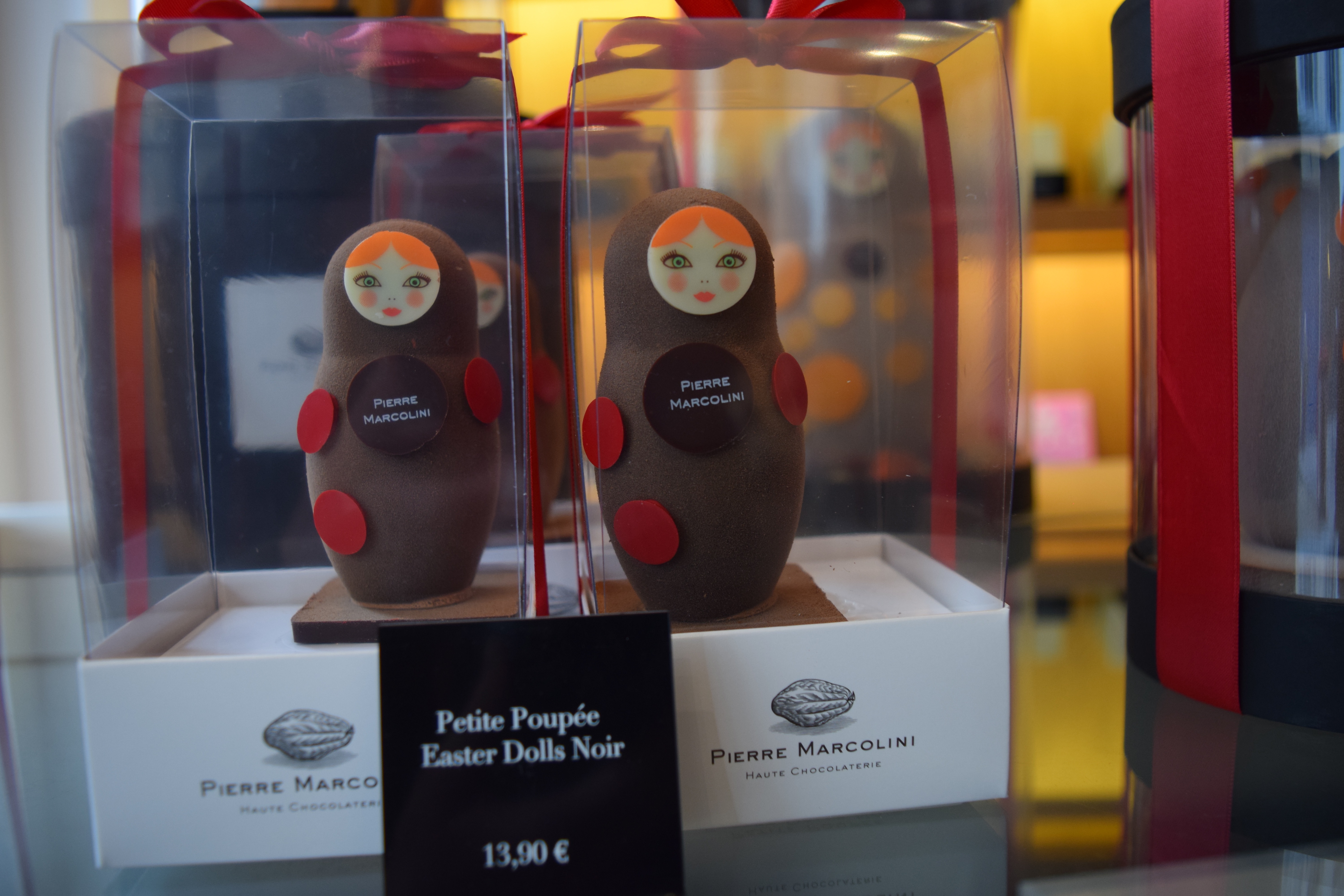 peirre marcolini easter dolls chocolate tour