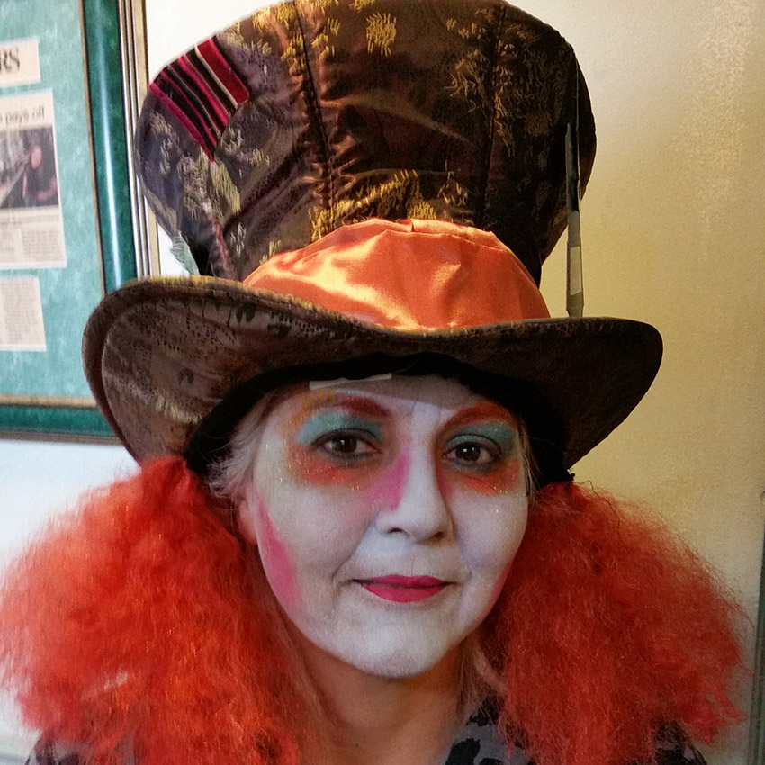 Mad Hatter Face Painting